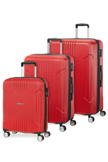 Tracklite 3 PC SET A  Flame Red